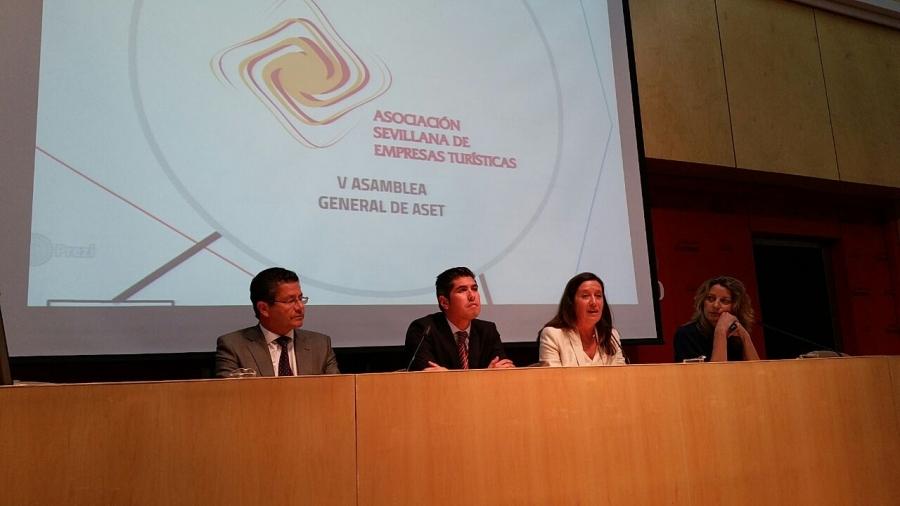 Clausura de la V Asamblea General de la Asociación Sevillana de Empresas Turísticas